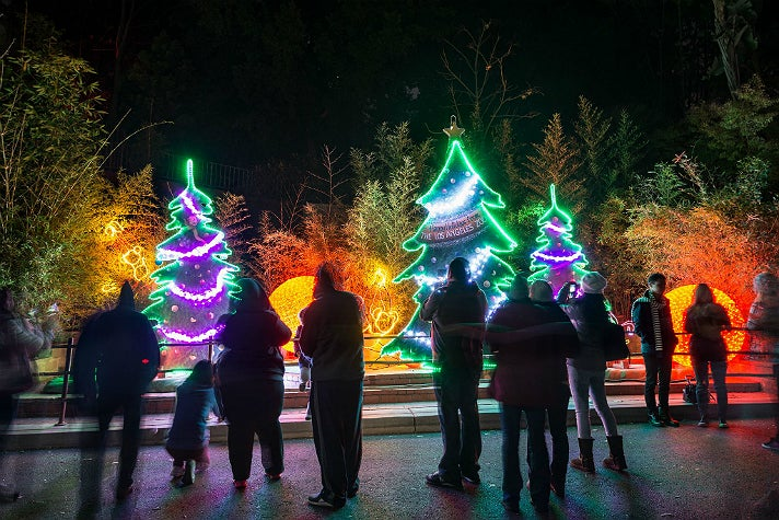 L.A. Zoo Lights at the Los Angeles Zoo